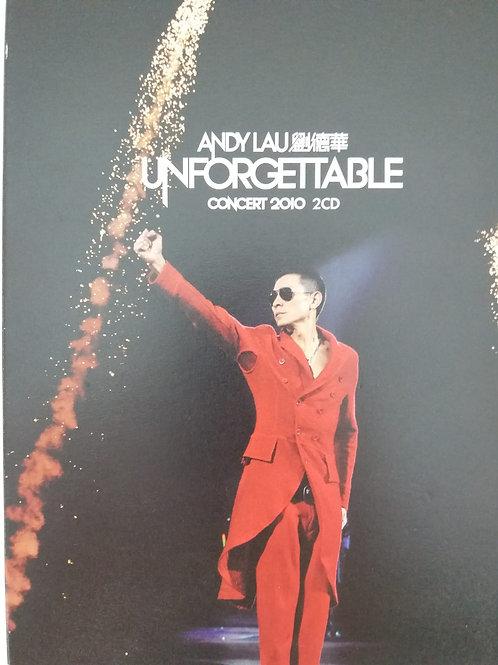 劉德華  - Unforgettable Concert 2010 (2 CD/DSD)