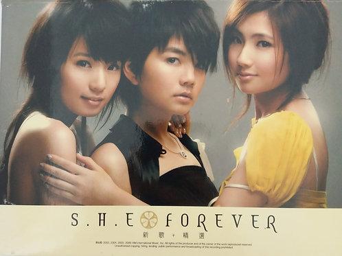 S.H.E - S.H.E Forever 新歌 + 精選(CD+DVD)