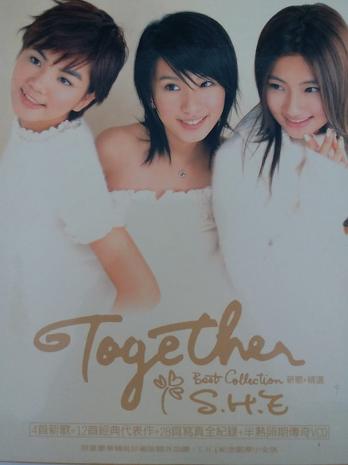 S.H.E - Together Best Collection 新歌+精选 (CD+VCD)