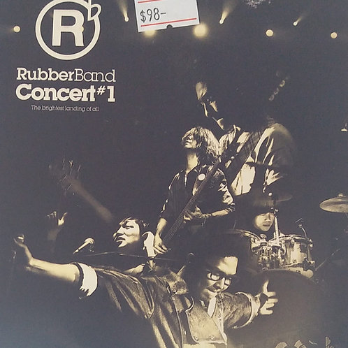 RubberBand - Concert#1(2 CD)