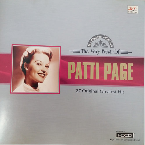 Patti Page - The very Best Of Patti Page 27 Original greatest Hit (金碟)