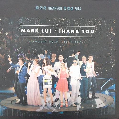 雷頌德 - THANK YOU演唱會2013 Live (3 CD)