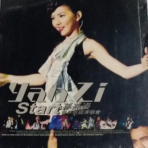 孫燕姿 - Yan Zi Start 世界巡迴演唱會 (2 CD/全新未開封)