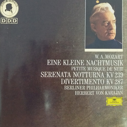 Wolfgang Amadeus Mozart Eine Kleine Nachtmusik KV 525/Serenata Notturna KV239
