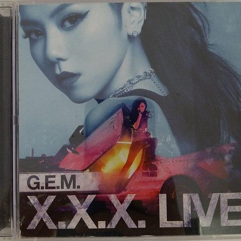 G.E.M. - X.X.X. Live (2 CD)