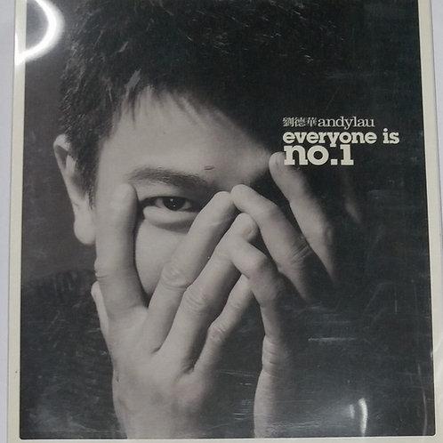 劉德華 - everyone is no.1 (2 CD+DVD)