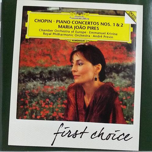 Maria Joao Pires - Chopin : Piano Concertos No. 1,2
