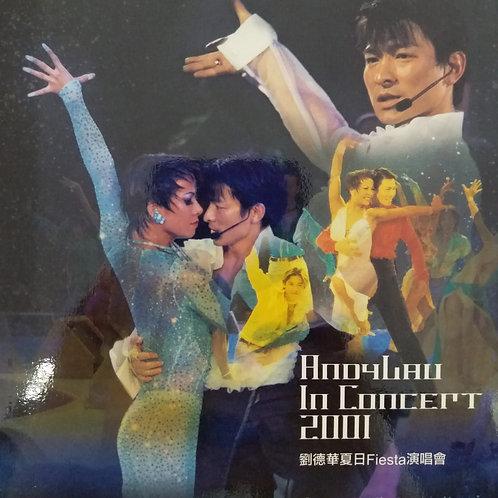 劉德華 - 劉德華夏日Fiesta演唱會 (2 CD)