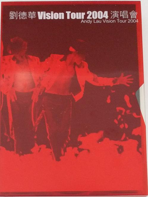 劉德華 - Andy Lau Vision Tour 2004 首批限量特別版 (3 CD+VCD/DSD)