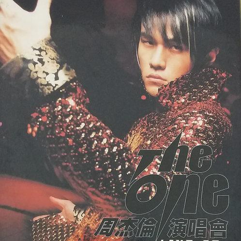 周杰倫 - The One 周杰倫演唱會 Live CD (2 CD+VCD)