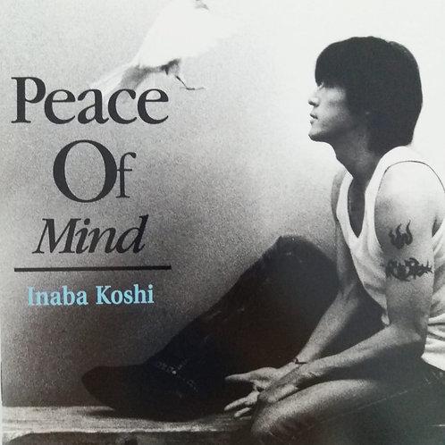 稻葉浩志 Inaba Koshi - Peace Of Mind (CD+DVD)