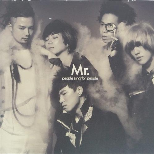 Mr. - People Sing For People (CD+DVD)