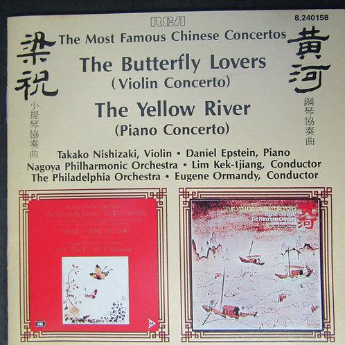 西崎祟子/費城管弦樂團 -「梁祝」小提琴協奏曲「黃河」鋼琴協奏曲