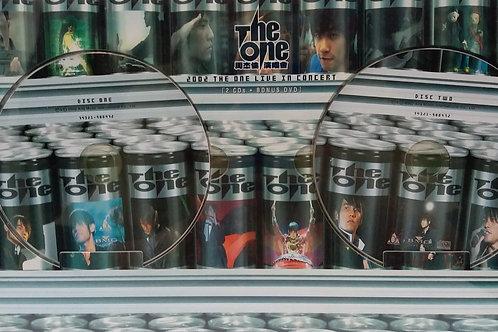 周杰倫 - The One 周杰倫演唱會 (2CD+Bonus DVD)