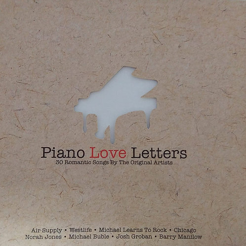 Piano Love Letters - 30 Romantic Songs By The Original Artists( 2 CD)