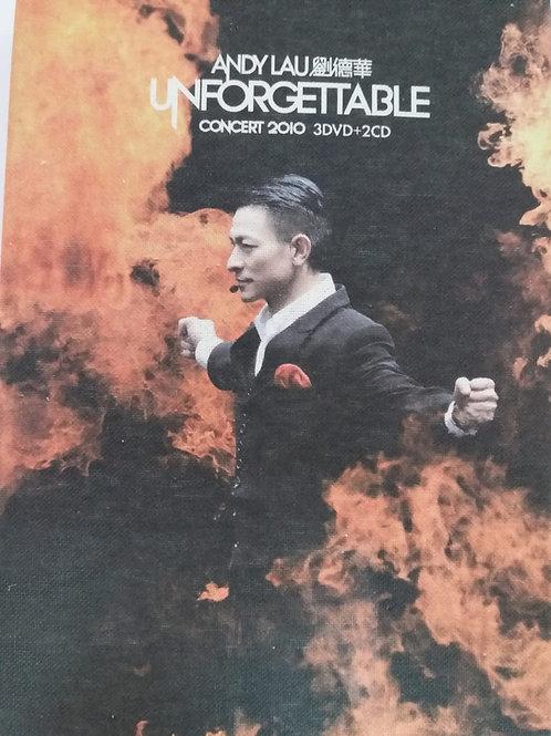 劉德華 - Andy Lau Unforgettable Concert 2010 (3 DVD+2 CD/DSD)