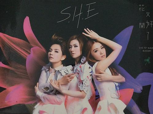 S.H.E - 花又開好了(CD+DVD)