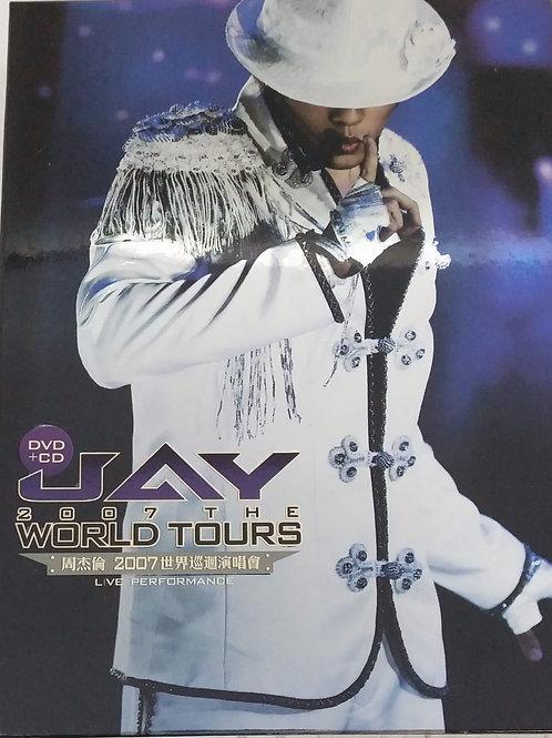 周杰倫-周杰倫 2007 世界巡迴演唱會(2 CD+DVD)