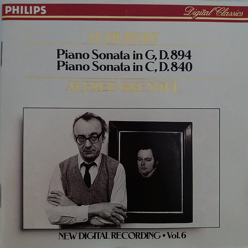 Schubert: Piano Sonata in G, D.894 / Piano Sonata in C, D.840