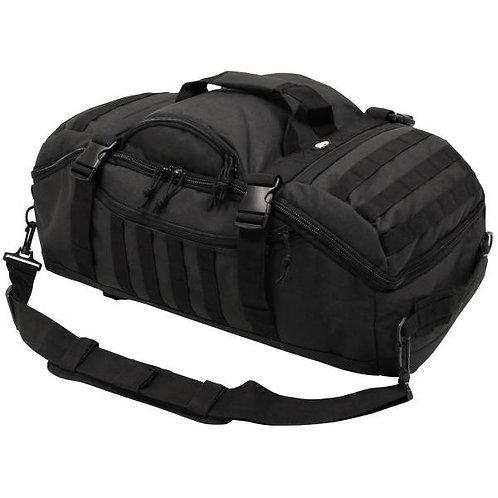 MFH Travel 48L Backpack Bag - Black 30655A