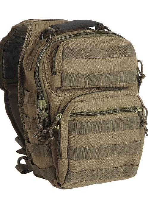 Mil-Tec One Strap Assault Pack - Olive-14059101