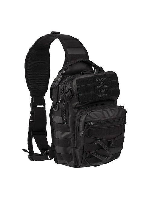 MIL-TEC TACTICALBLACK ONE STRAP ASSAULT PACK SMALL-14059188