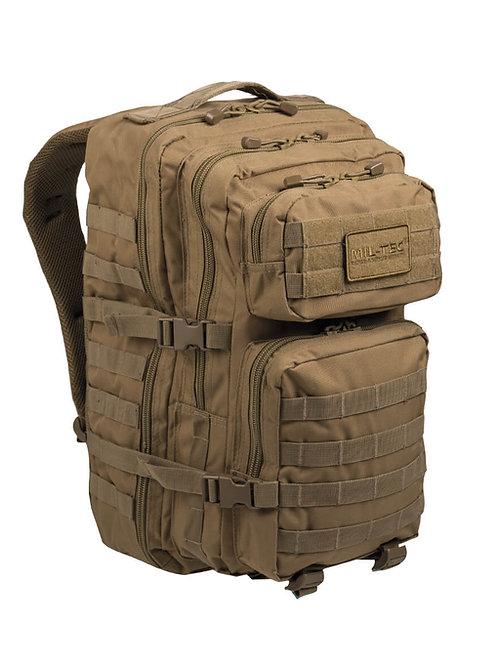 MIL-TEC US ASSAULT PACK LG Coyote 36lt-14002205