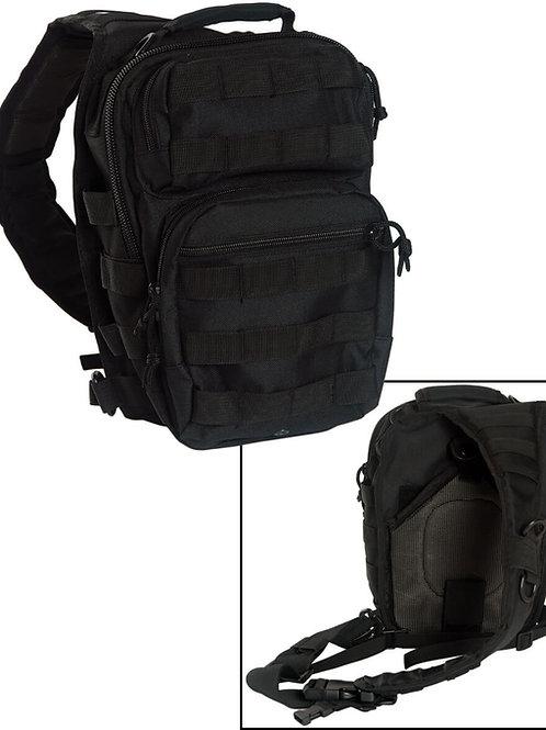 Mil-Tec One Strap Assault Pack - Black-14059102