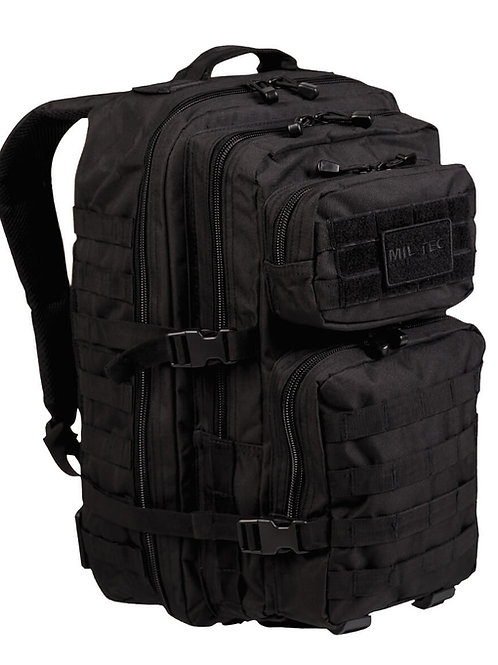 MIL-TEC US ASSAULT PACK LG BLACK 36lt-14002202