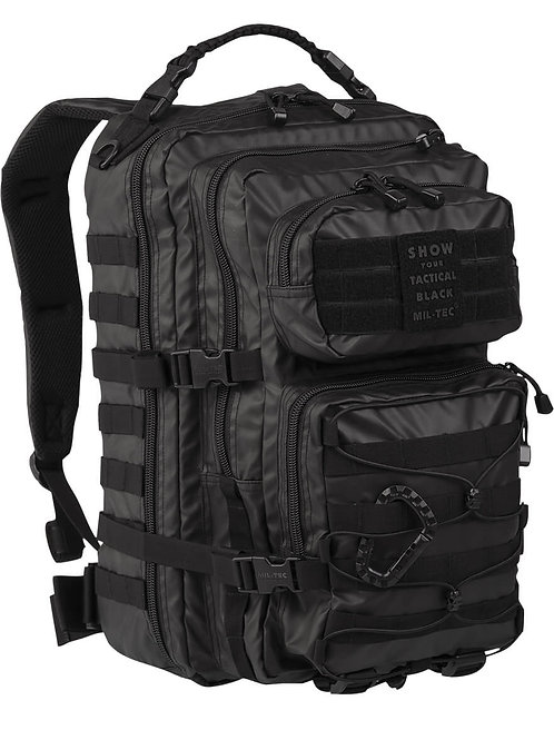 MIL-TEC US ASSAULT PACK LG TACTICAL BLACK 36lt-14002288