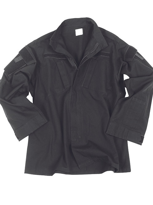 MIL-TEC  TEESAR ACU COMBAT SHIRT BLACK-11925002
