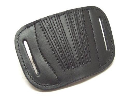 Vega FA1 – Belt leather holster uncovered full barrel Black