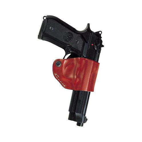 Vega NE1 – Belt leather holster uncovered full barrel Black
