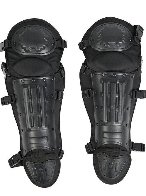 MIL-TEC BLACK ANTI RIOT LEG PROTECTION-16234002