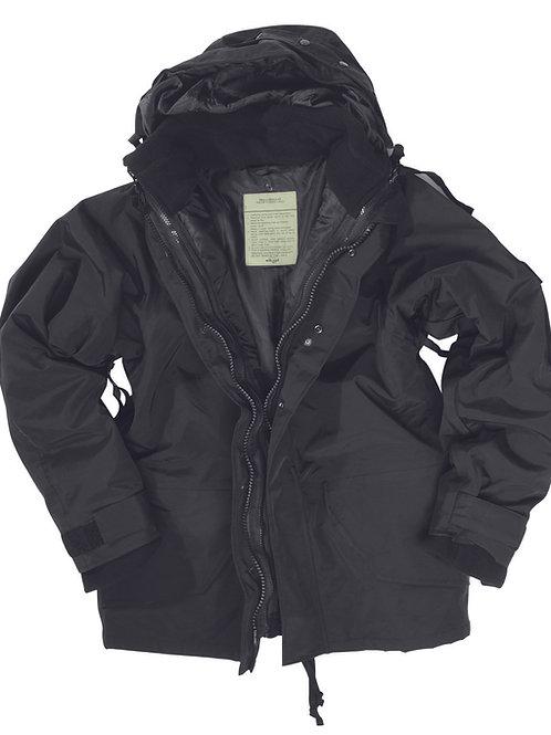 Αδιάβροχο Μπουφάν Πάρκα MIL-TEC 3-1. BLACK- 10615002