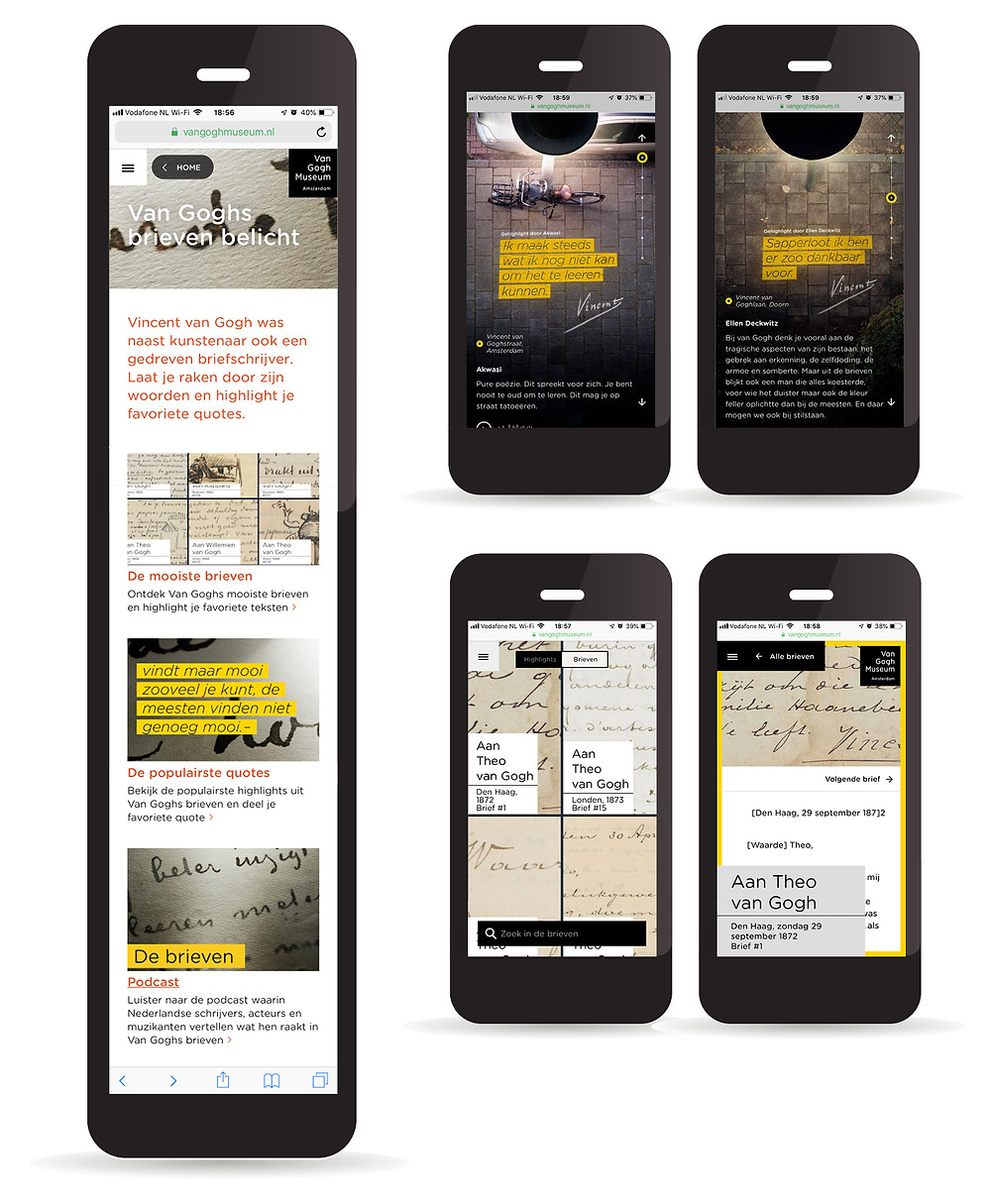 """web-tour for the Van Gogh Museum's collection """"Van Gogh Highlights"""