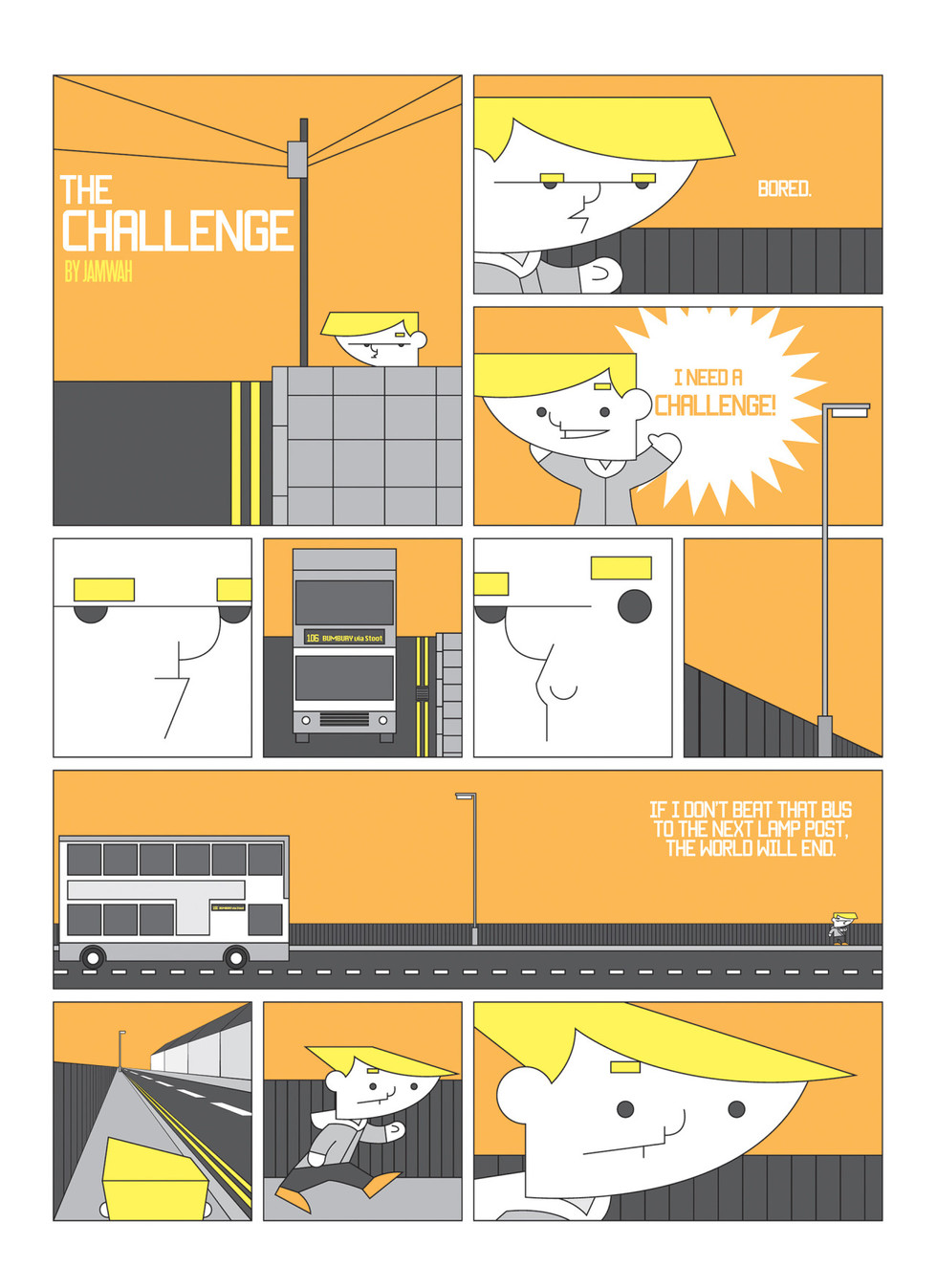 The Challenge page 1