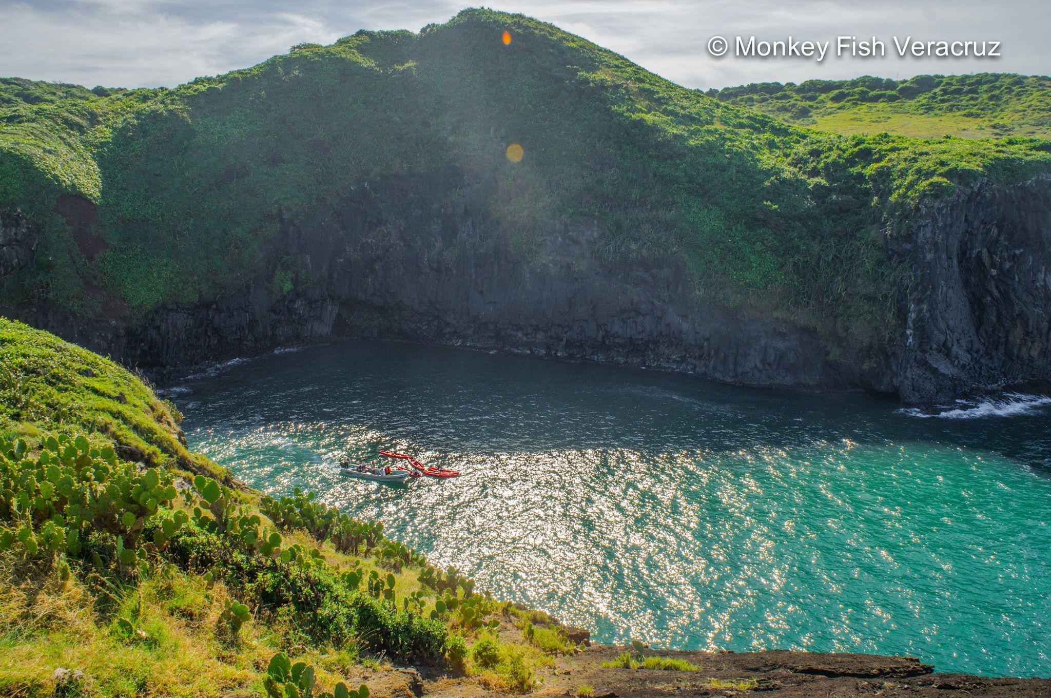 Kayak en Roca Partida