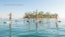 Paddle en Isla de Sacrificios
