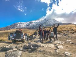 Pico de Orizaba, cara norte