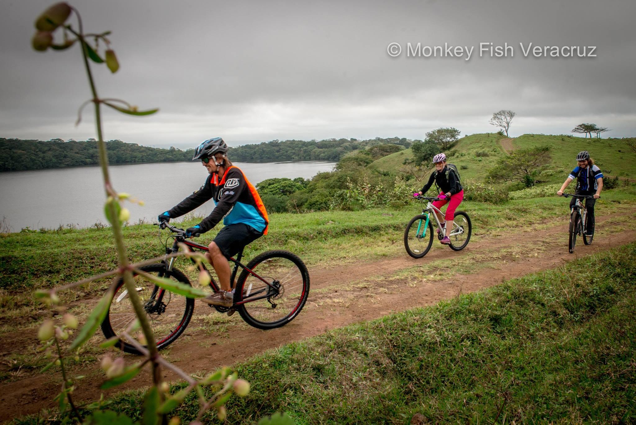 Mountain bike en Los Tuxtlas, Ver