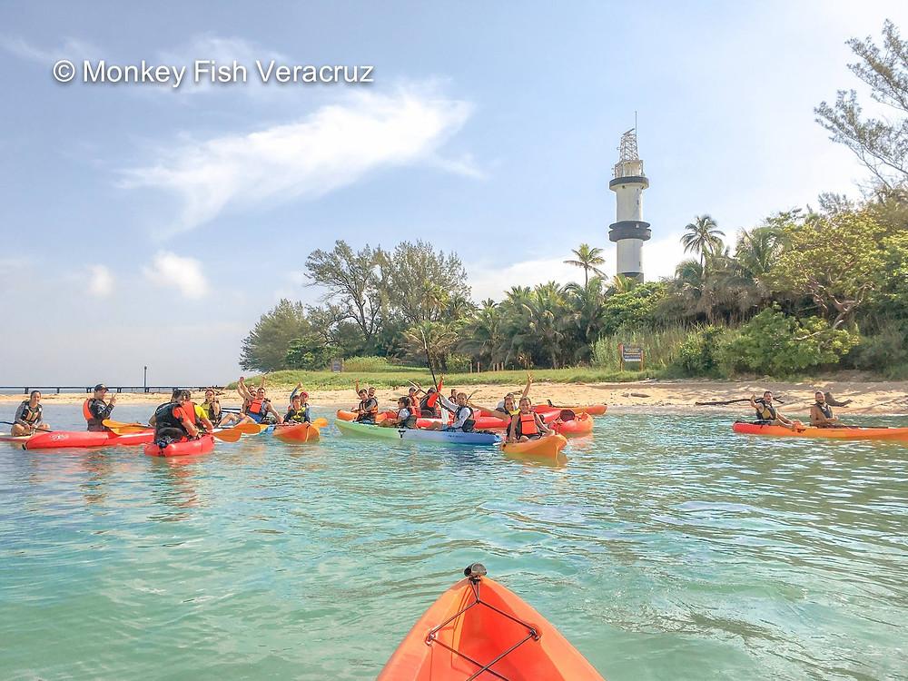 kayak-isla-de-sacrificios-veracruz
