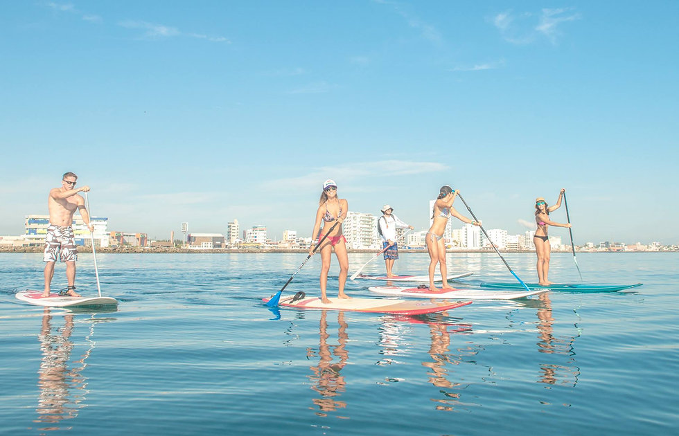 paddle-board-isla-de-sacrificios-veracuz-mexic