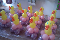 Ducks in Pink