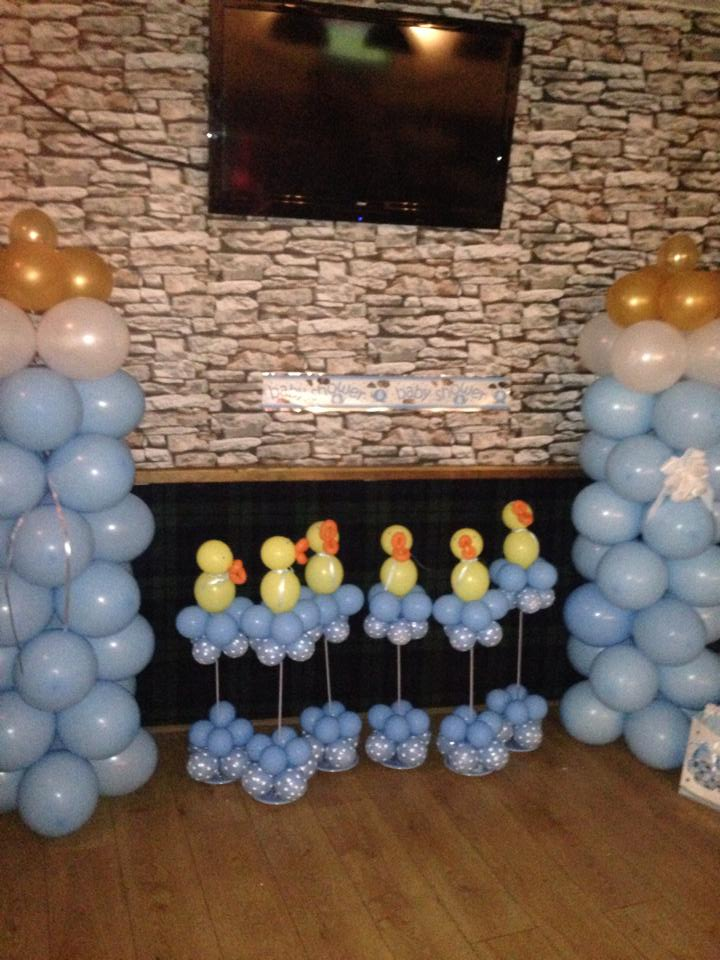 Ducks in Blue