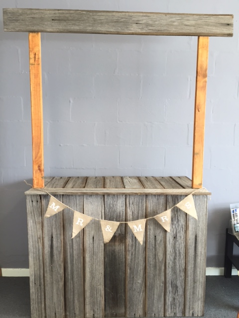 Rustic Food Stand