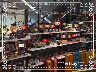 トルコ雑貨、ヴィトライ、そごう西神店