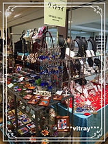 トルコ雑貨、ヴィトライ、須磨大丸イベント