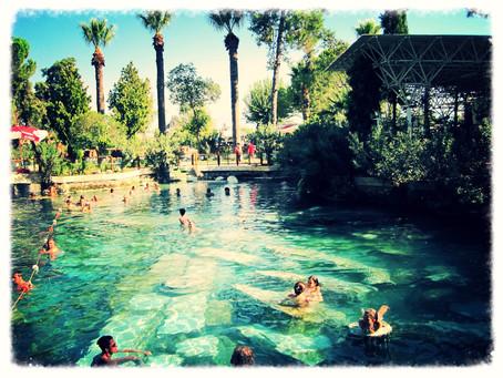 トルコで温泉!!