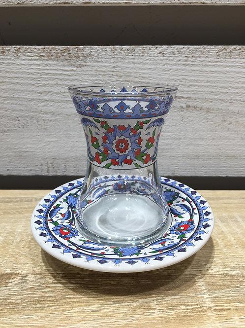チャイグラス(陶器皿)/ No.5